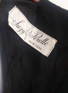 Vintage Dresses - 50s Suzy Perette New York Audrey cocktail dress